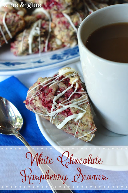 White Chocolate & Raspberry together in a soft, moist, delicious ...