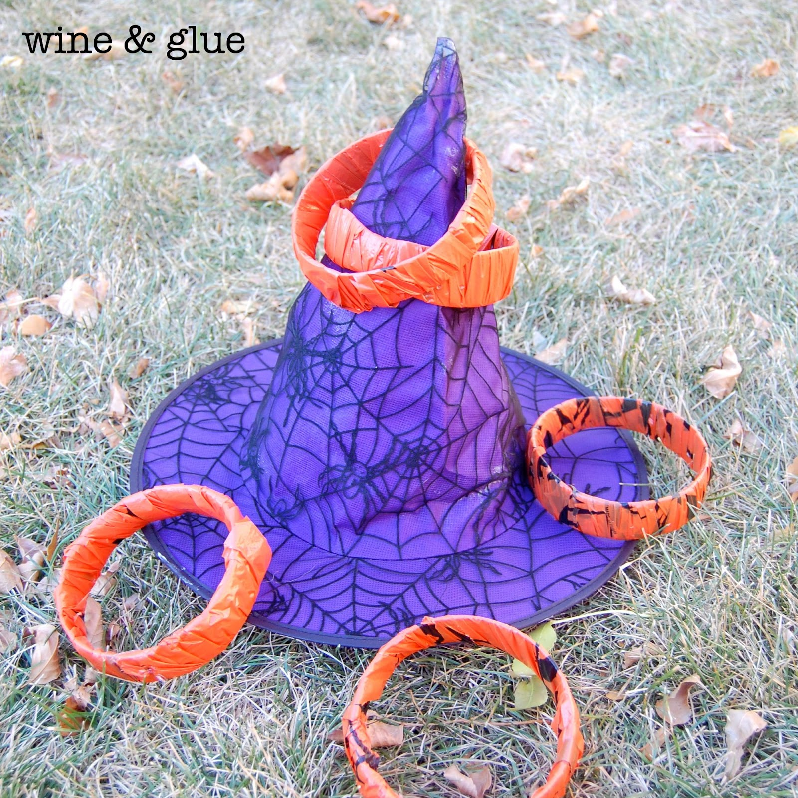 Homemade Halloween Games - Wine & Glue